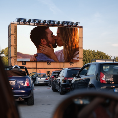 Safely watch movies from your car at The Roadium Drive-In Theater in Torrance