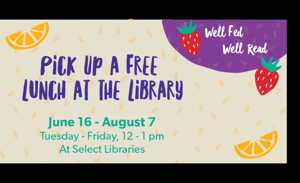 la county los angeles public library free food lunch covid coronavirus