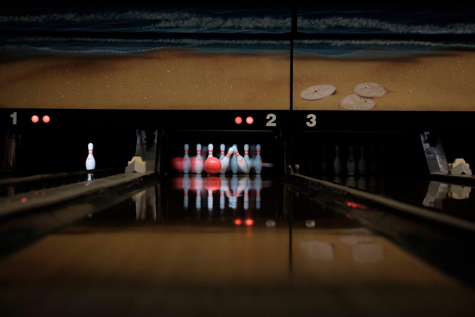 gardena bowling alley ball pins