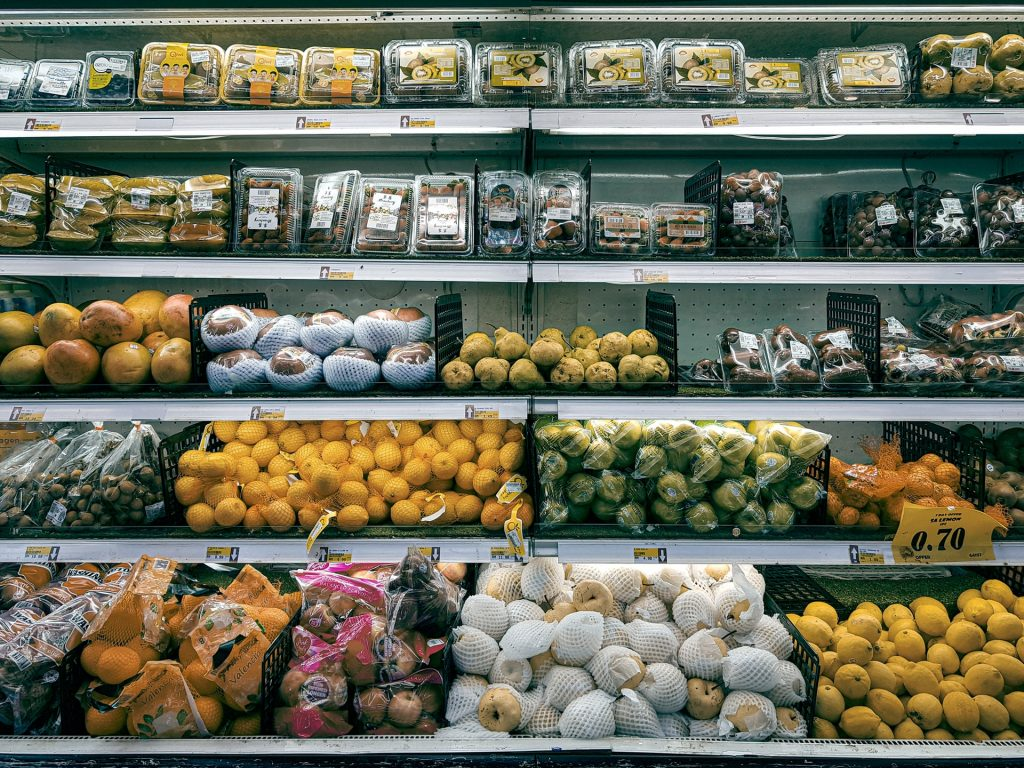asian fruit aisle supermarket american