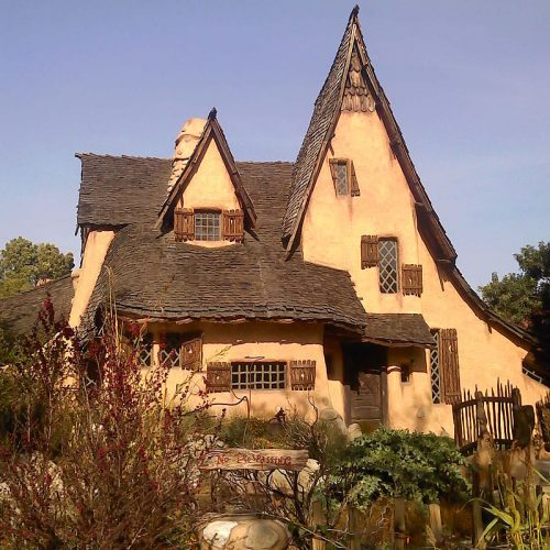"""Check out """"The Witch's House"""", or the Spadena House, in Beverly Hills"""
