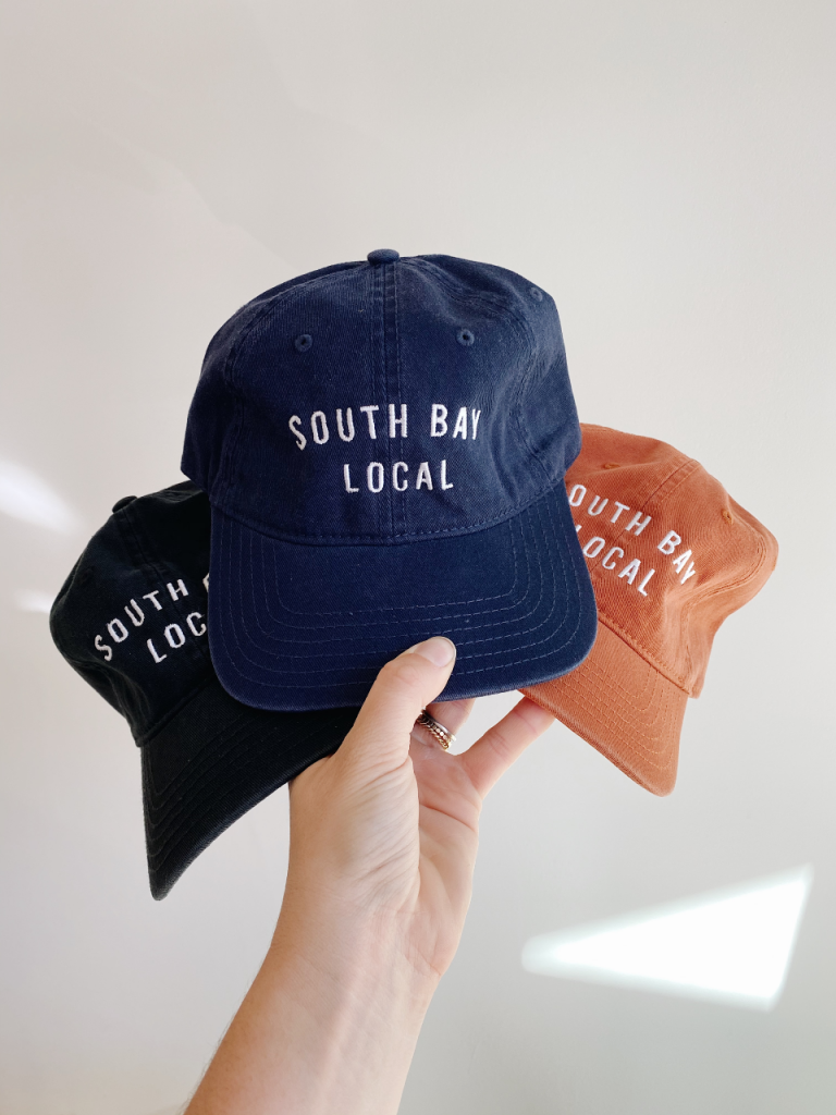 outdoor market redondo beach holiday makers south bay local hat
