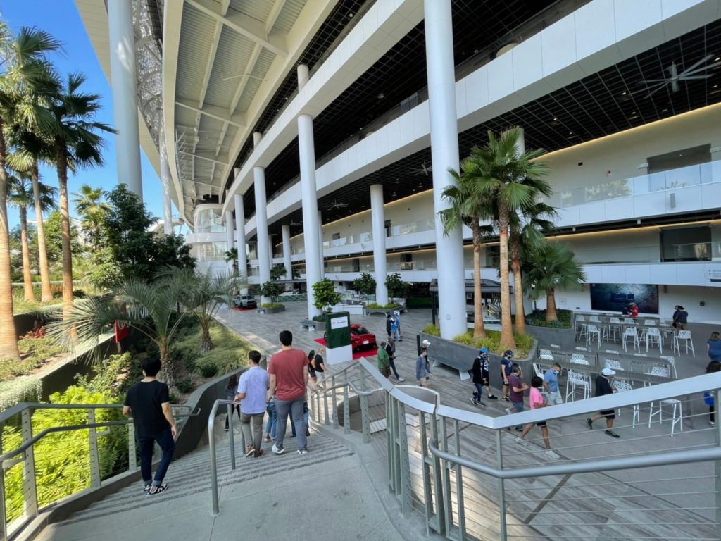 sofi stadium outdoors tour